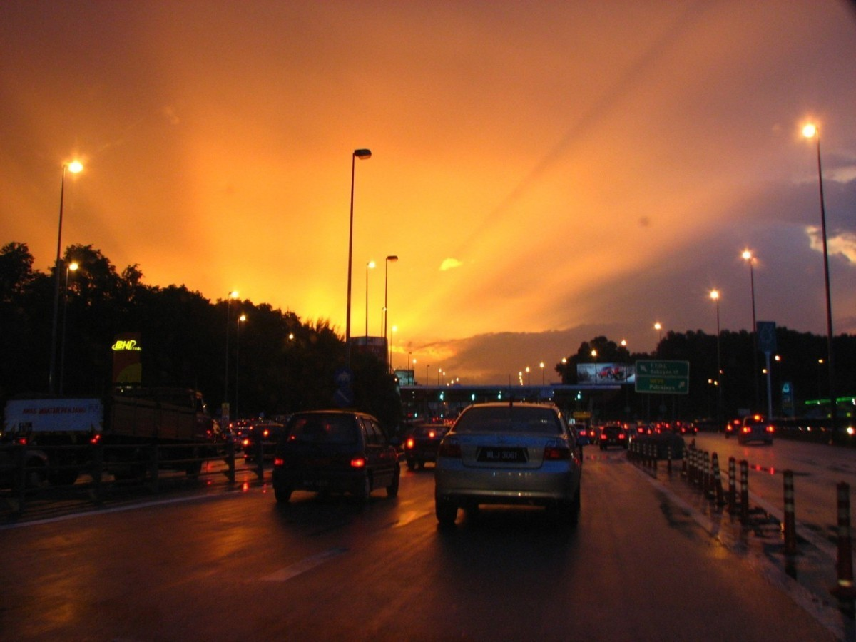 Czy korki w mieście są uzależnione od warunków pogodowych?